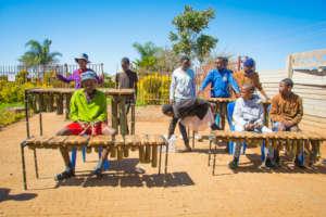 Zara's Marimba Band (pre-covid)