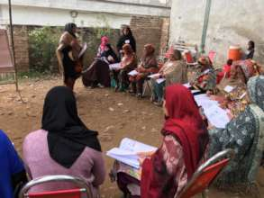Training #2 in a community outside of Islamabad