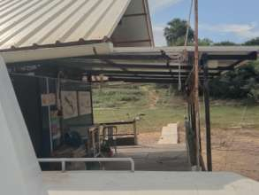 Roof extension at the River Clinic
