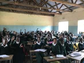 Terrat secondary classroom