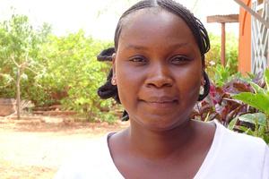 Diemila, primary school teacher trainee