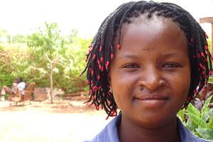 Rachidatou, primary school teacher trainee