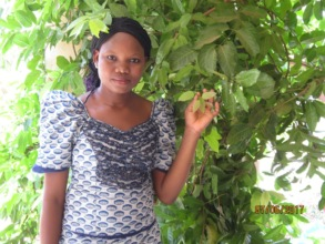 Nabo, a GlobalGiving scholarship recipient