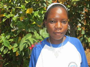 Salimata, future primary school teacher