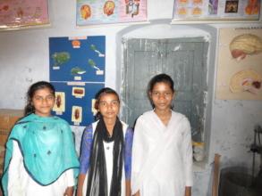Friends Manisha, Tanya and Monika