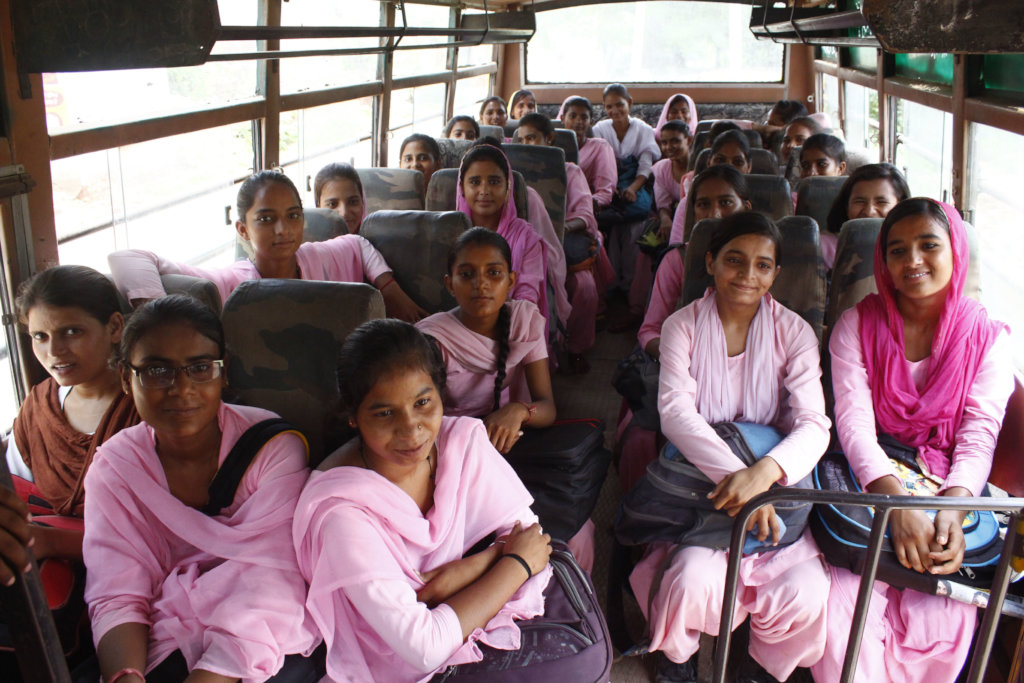 The Blossom Bus: Help Rural Girls Get To School! - GlobalGiving
