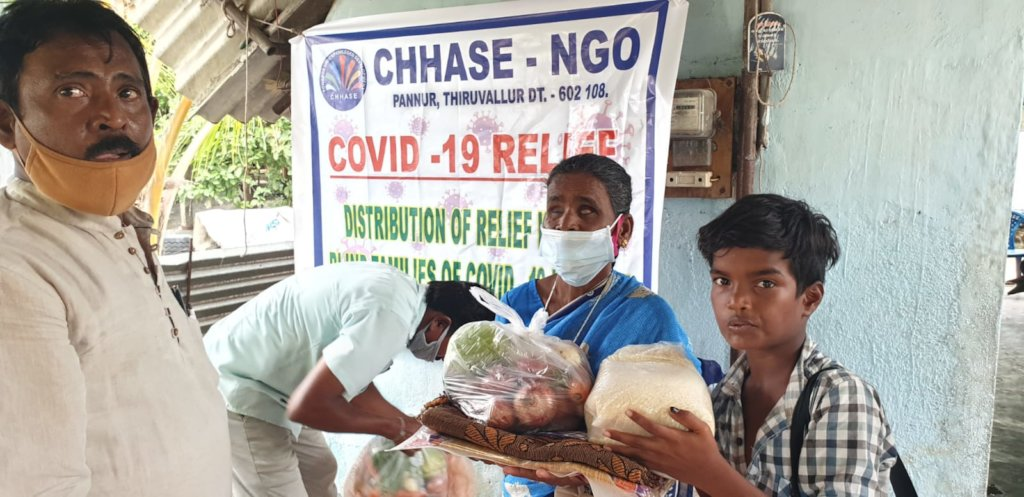 Save 62 blind families from starvation & Covid-19
