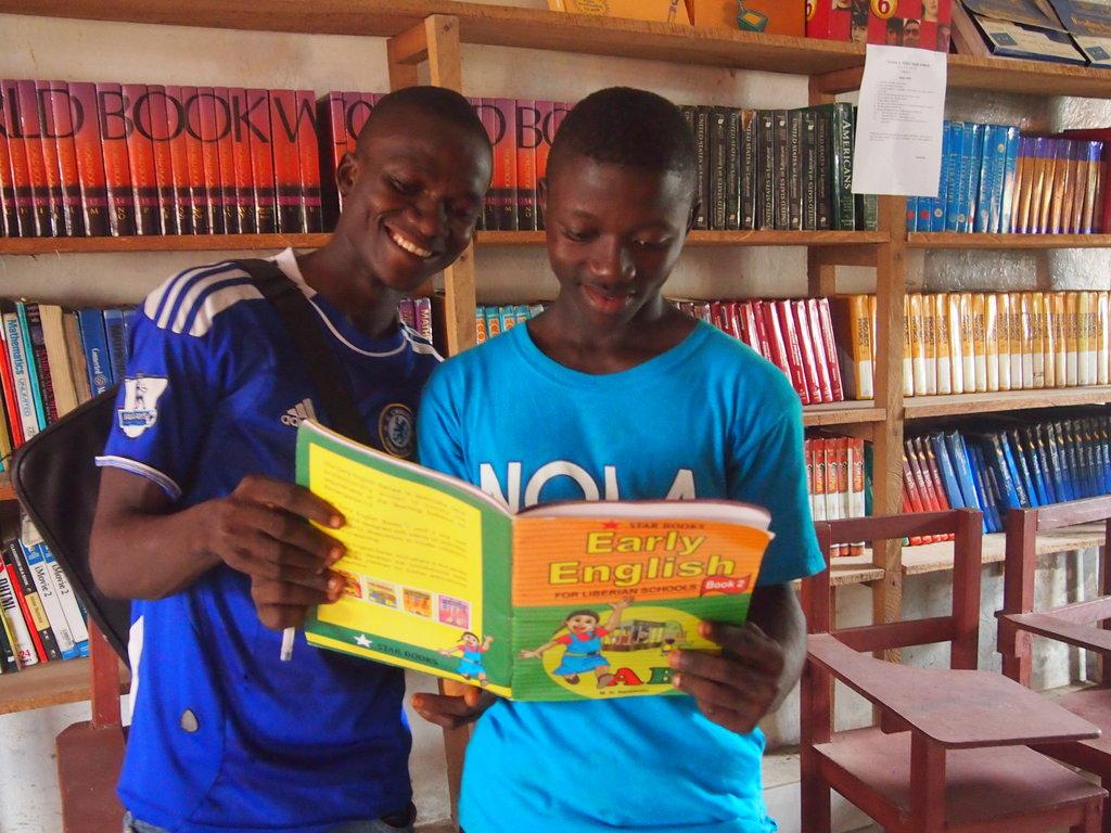 Provide Textbooks for Children in Liberia