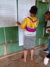 Participant in community workshop
