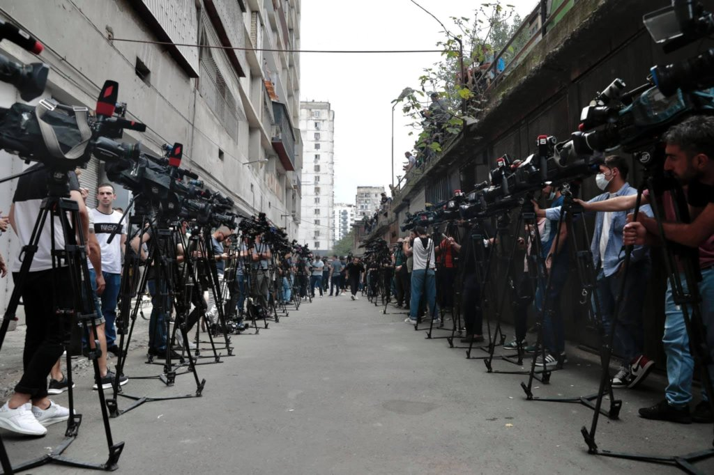 Support wellbeing of journalists in Georgia