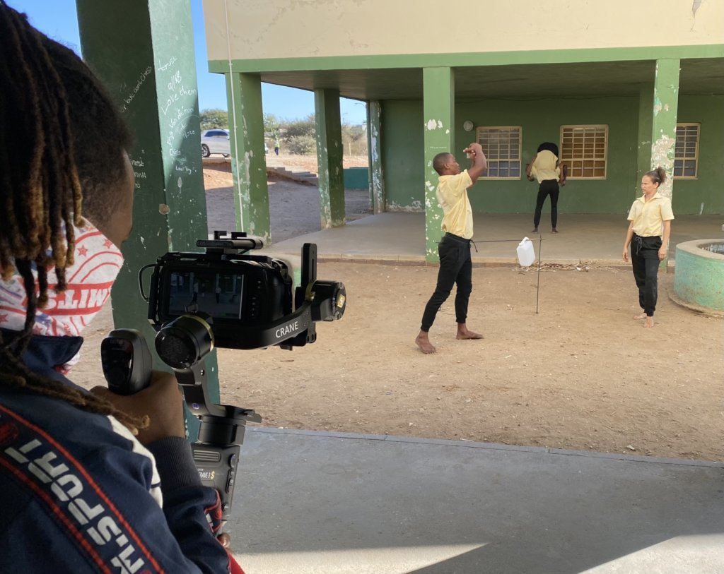 Address social issues with OYO dance troupe