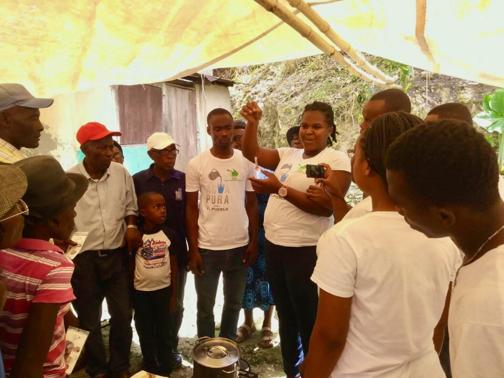Safe water for Haiti earthquake victims