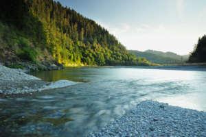 Blue Creek and Klamath River