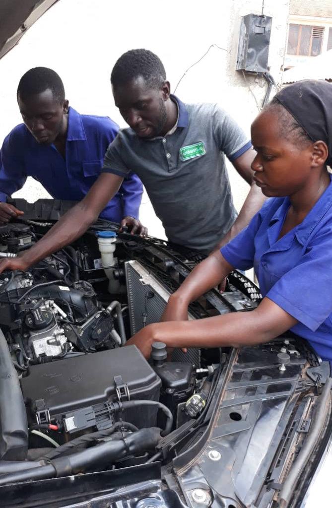 Clean air through local EV conversion in Uganda