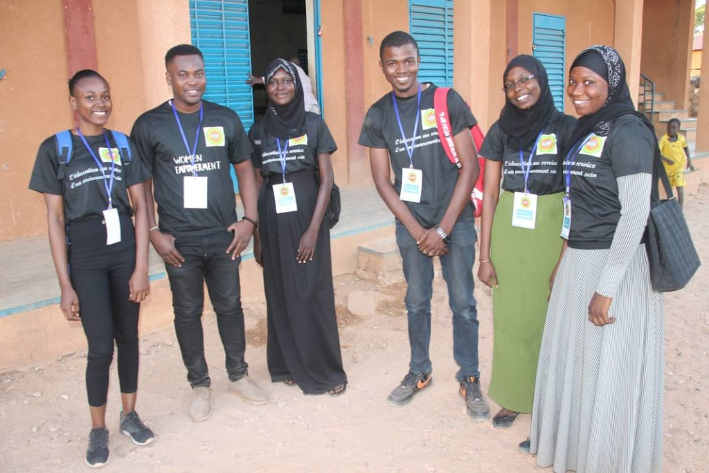 Training 1000 girls in computer science in Togo