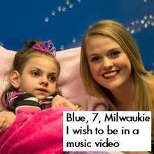 Blue and Candice Russell at Make-A-Wish Oregon