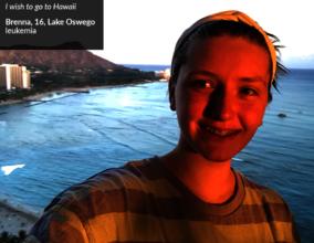 Brenna in Hawaii