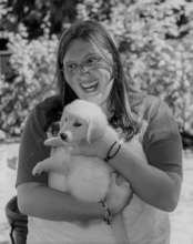 Wish kid Jade and her puppy Gypsy