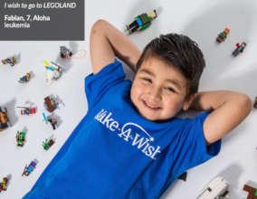 Fabian with LEGO blocks