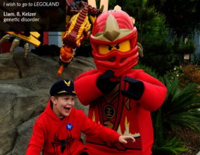 Liam and a LEGO Ninja