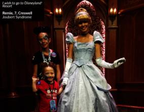 Remie with Cinderella