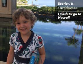 Scarlett in Hawaii