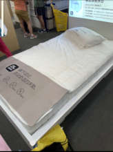 One of 7 new beds from Ikea, Beijing