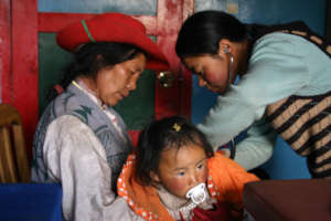 Health Care in Tibet /Yushu