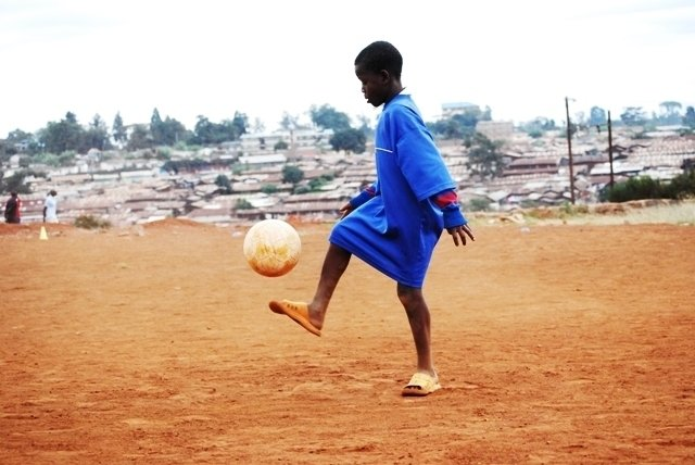 Use soccer as a tool to educate 2500 Kibera youths