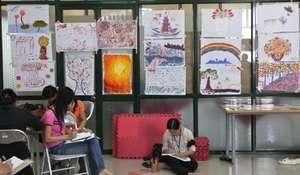 Women's Artwork in Vietnam