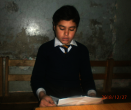 Busy in class