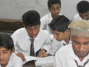 Send 50 Pakistani child workers to high school