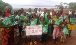 Thanks GlobalGiving for providing nets