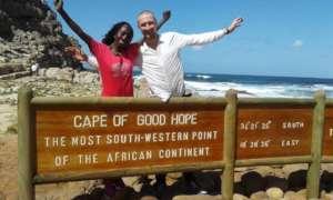 Maureen visits the Cape of Good Hope
