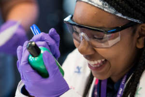 Sophie explores STEM with Green Light for Girls