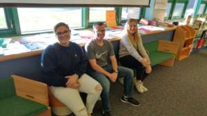 Some of our HS French Club students who translated