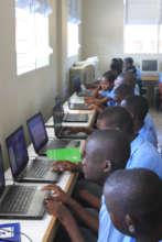 Our St. Marc students engaged in technology