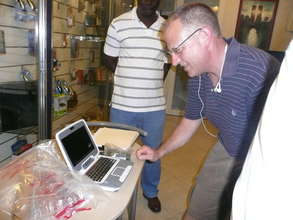 Checking Out Classmate PCs in Port au Prince