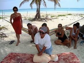 Training, Punta Allen, GVI Charitable Trust