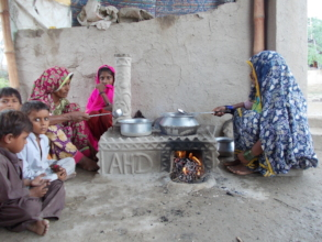 AHD Cooking stove helping in reduce gas emissions