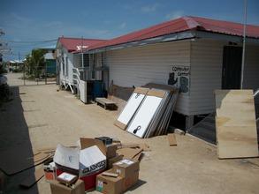 solar equipment awaiting storage at HCAS