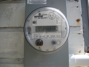 Bi-directional meter installed for first array