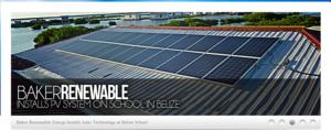 Baker Renewable Energy banner page: SUCCESS!