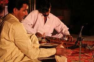 Folk Musicians From Sindh Flood Areas