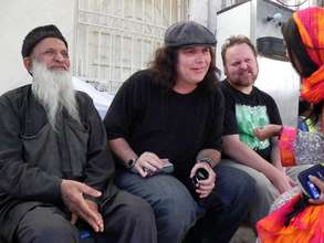 Todd and Lanny with Edhi