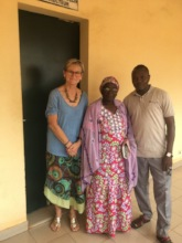 Dr. Annie De Groot meeting with partners in Mali.