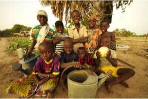 Nassile students enjoy the harvest