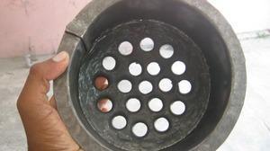 Removabale charcoal bucket