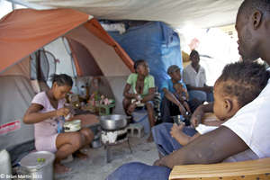 Cooking in the Camp