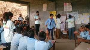 Activity in Binayak Bal Secondary School